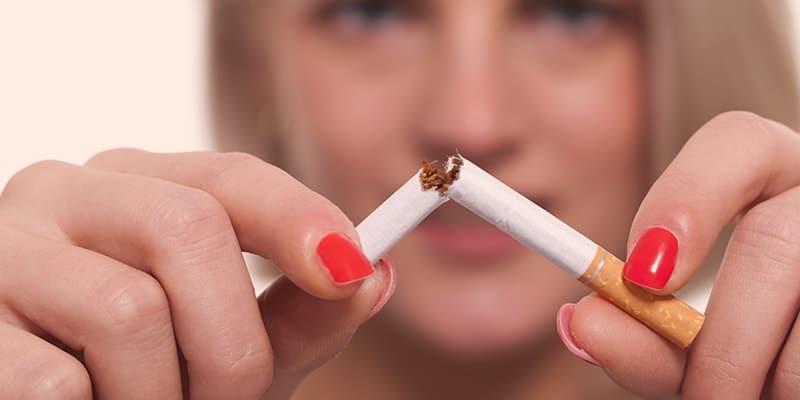 Dejar de fumar Romper Cigarrillos