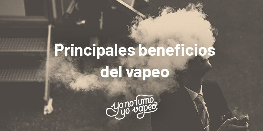 Beneficios de vapear