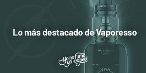 Descubre los 5 productos de Vaporesso indispensables para vapear.